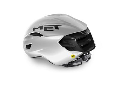 MET Manta Mips - Aero Cykelhjelm - Mat White Holopraphic
