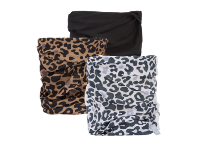 OXC - Halsedisse - 3 st. förpackning - Polyester - En storlek - Leopard