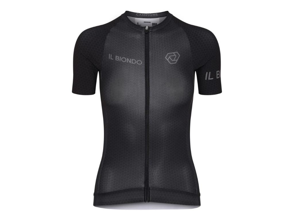 Køb Il Biondo Road Warrier – Cykeltrøje – Thor Racefit – Dame – Sort – L