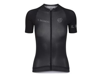 Il Biondo Road Warrier - Cykeltrøje - Thor Racefit - Dame - Sort