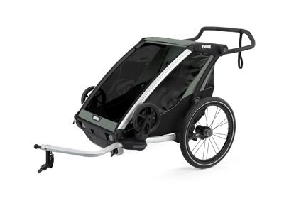 Thule Chariot Lite 2 - Multisportstrailer til 1-2 børn - Agave