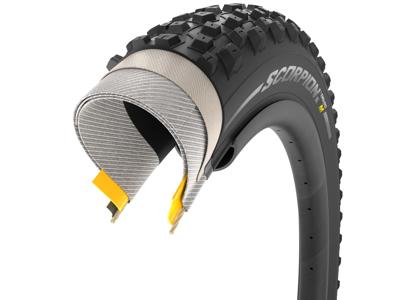 Pirelli Scorpion Enduro M - MTB Foldedæk - 27,5x2,4 - Sort