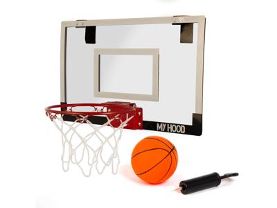 My Hood  - Minibasket med plade - Inklusiv bold og boldpumpe