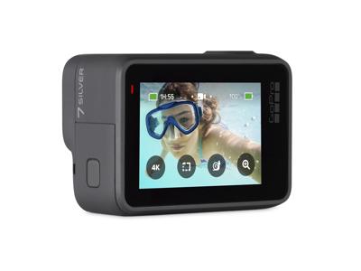 GoPro Hero7 - Actionkamera - Sølv