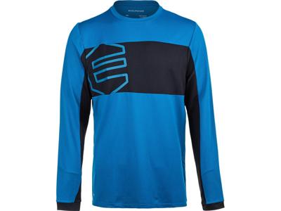 Endurance Havent - Cykel/MTB trøje m. lange ærmer - Blå