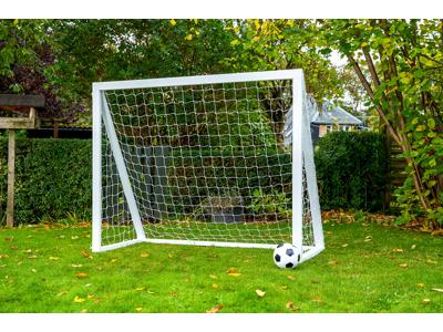 Homegoal - Pro Senior hvid - Fodboldmål i træ - 200x160 cm