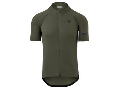 AGU - Core - Cykeltrøje med korte ærmer - Army grøn
