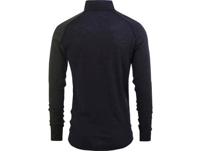 Bula - Geo Merino Wool Halfzip - Svedundertrøje - Olive