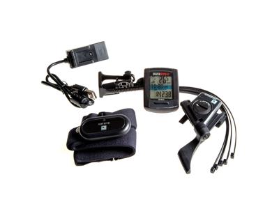 Cateye - Stealth EVO+ - GPS Cykelcomputer Bundle - 11 Funktioner
