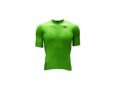 Giordana Pointtrøje - Cykeltrøje til børn - Grøn