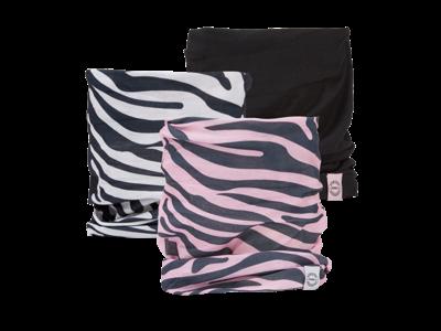 OXC - Halsedisse - 3 st. förpackning - Polyester - En storlek - Zebra
