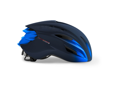MET Manta Mips - Aero Cykelhjelm - Blue Metallic/Mat