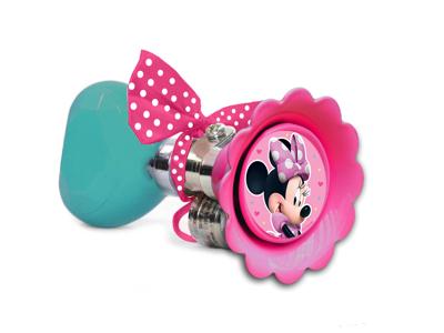 Sju - Minnie Mouse - Cykelhorn för barncykel - Rosa
