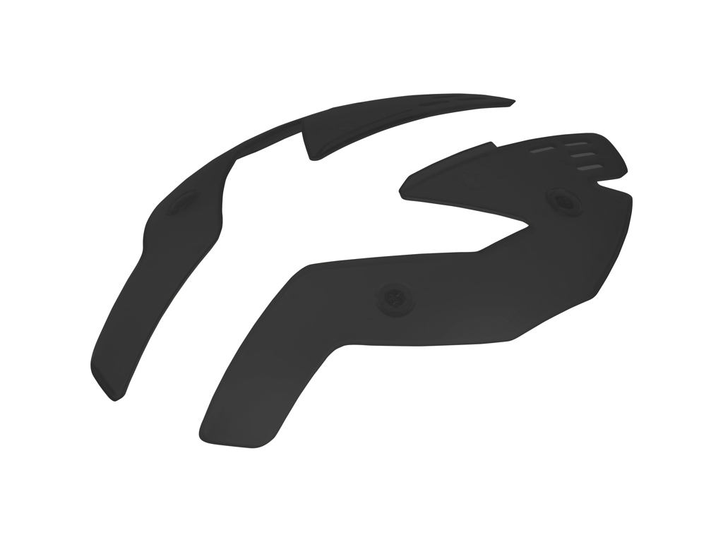 Sweet Protection Falconer Aerocovers - Mat Sort - Til Str. M thumbnail