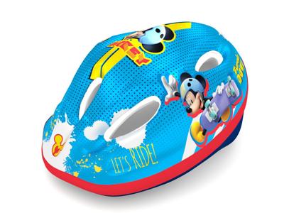 Seven - Mickey Mouse - Sykkelhjelm - Blå - Størrelse 52-56 cm