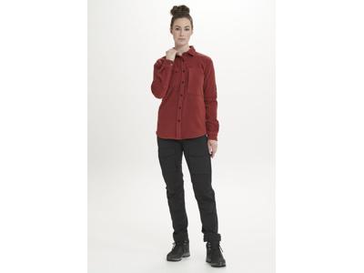 Whistler - Noelle W Polar Fleece Shirt - Fleeceskjorte dame - Russet Brown