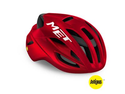 MET Rivale Mips - Cykelhjelm - Rød Metallic