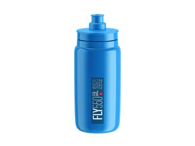 Elite Fly - Vattenflaska 550ml - 100% Biologiskt nedbrytbar - Ljusblå med svart logga