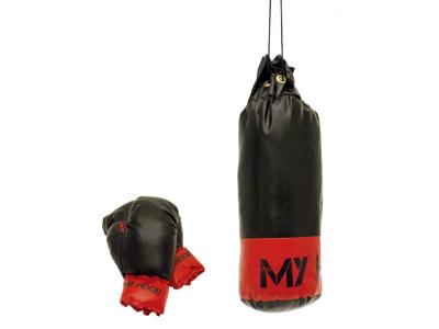 My Hood  - Boksesæk med handsker - 1 kg - 3-5 år