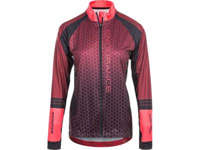 Endurance Vera - Sykkeltrøye med lange ermer - Kvinner - Rød
