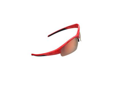 BBB Impress Small BSG-68 - Cykelbriller - Rød -  Inkl. 3 linser
