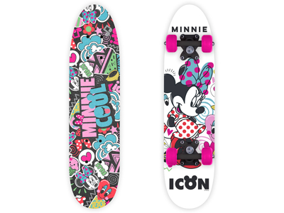Seven - Minnie Mouse - Skateboard - Pink