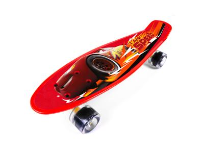 Seven - Cars 3 - Penny board - Rød - Fra 6 år