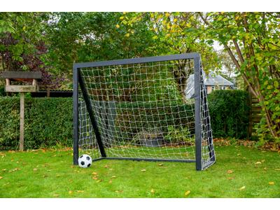Homegoal - Pro Senior sort - Fodboldmål i træ - 200x160 cm