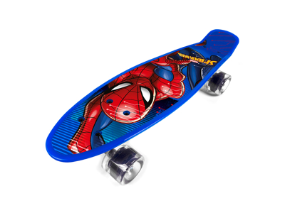 Seven - Spiderman - Penny board - Blå - Fra 6 år