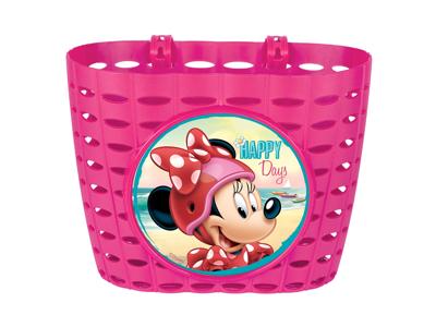 Seven - Minnie Mouse - Cykelkurv til børnecykel - Pink