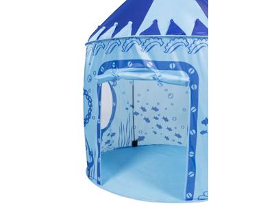 Trespass Chateau - Lege telt - Inde og ude - Blå