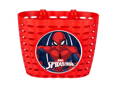 Seven - Spiderman - Cykelkurv til børnecykel - Rød