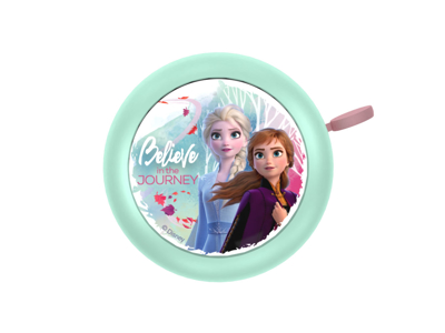 Seven - Frozen II - Ringeklokke til børnecykel - Mint -  Str. Ø55mm