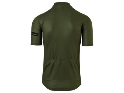 AGU Jersey Striped - Cykeltrøje - Army Grøn