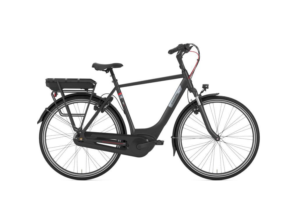Køb Gazelle  Paris C7+ HMB – Elcykel – 7 gear – Fodbremse – Black –  Str. 53 cm