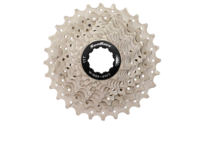 Sunrace CSRS0 - Kassette 10 gear - 11-28 tands - Road - Til Shimano eller Sram - Metallic