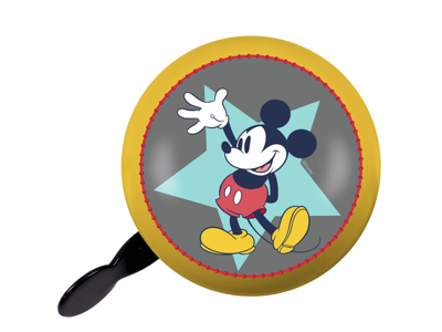 Seven - Mickey Mouse - Vintage bell - Yellow - Size Ø80 mm