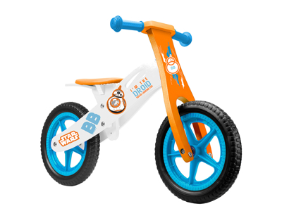 "Seven - Løbecykel i træ - 12"" EVA dæk"