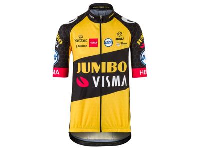 AGU Jumbo Visma Replica Kids - Cykeltröja med korta ärmar