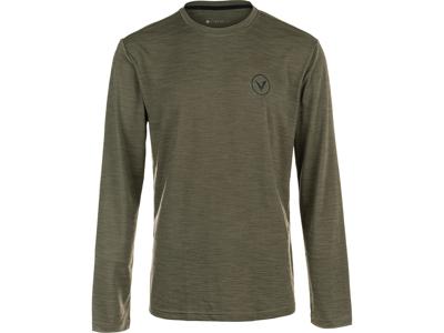 Virtus - Joker - Langærmet T-Shirt - Olive - Str. S
