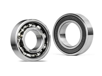 Cema - Cema kugleleje 10x26x8 - Dobbelt tætning - Crome stål
