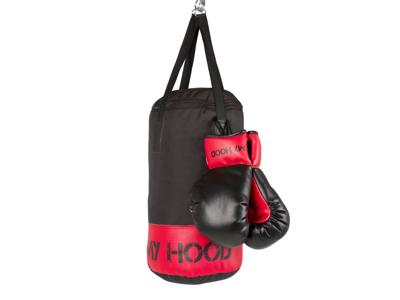My Hood  - Boksesæk med handsker - 4 kg - 4-10 år
