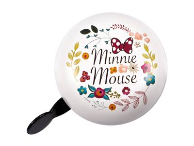 Seven - Minnie Mouse - Vintage bell - Vit - Storlek Ø80 mm