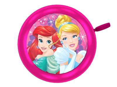 Seven - Princess - Klocka för barncykel - Pink - Storlek Ø55mm
