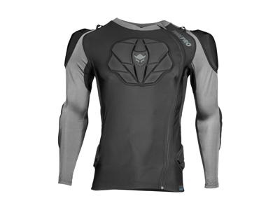 TSG Tahoe Pro A 2.0 - MTB trøje med beskyttere - Sort