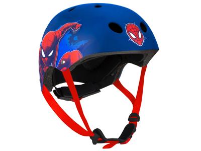 Seven - Spiderman - Cykelhjelm - Blå -  Str. 54-58 cm