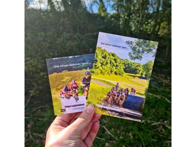 DGI Hærvejsløbet postkort 2021