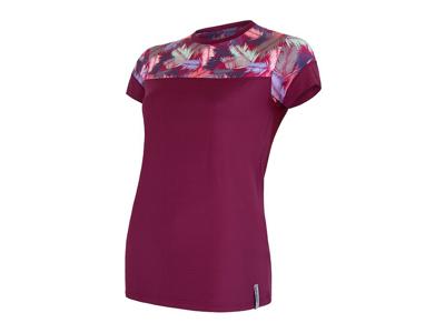 Sensor Coolmax Impress - T-shirt med korta ärmar - Kvinnor - Lila