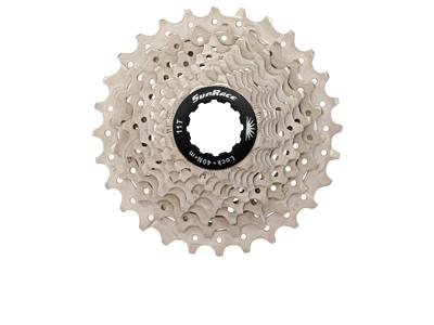 Sunrace CSRS0 - Kassette 10 gear - 11-25 tands - Road - Til Shimano eller Sram - Metallic