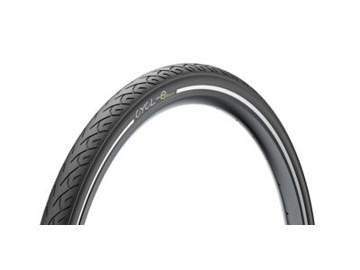 Pirelli Downtown Sport - Godkendt Kanttrådsdæk til E-Bike - Sort